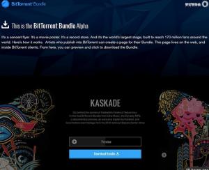 bundle - новый медиаформат от BitTorrent