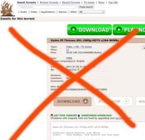 HBO потребовала y Google запретить VLC