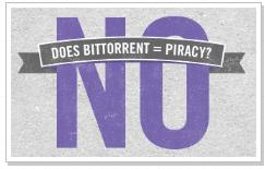 BitTorrent перестали считать пиратами