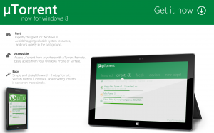 utorrent для windows 8