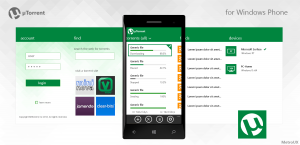 utorrent для windows phone