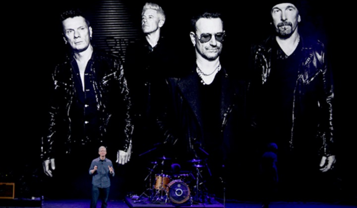 Презентация альбома U2