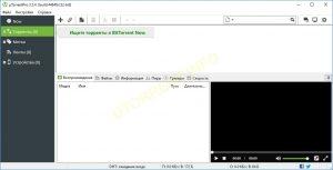 uTorrent pro интерфейспрграммы